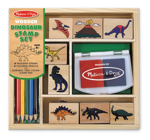 M&D  DINOSAUR STAMP SET