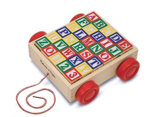 M&D  CLASSIC ABC BLOCK CART