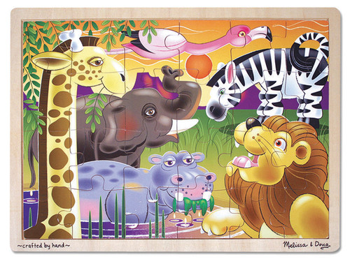 M&D  AFRICAN PLAINS JIGSAW (24 PC)