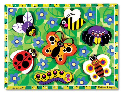 M&D  INSECTS CHUNKY PUZZLE