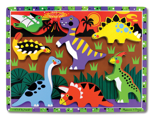 M&D  DINOSAURS CHUNKY PUZZLE