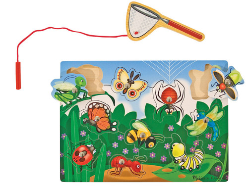 M&D  BUG CATCHING MAGNETIC PUZZLE GAME