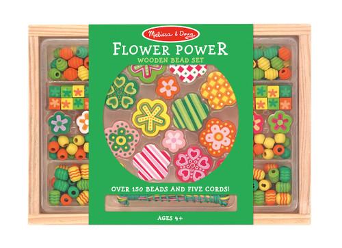 M&D  FLOWER POWER BEAD SET