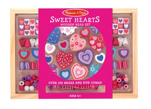 M&D  SWEET HEARTS BEAD SET