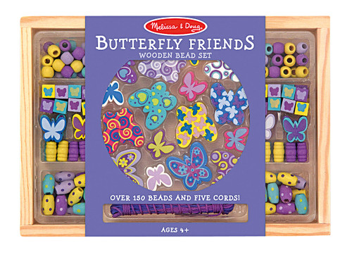 M&D  BUTTERFLY FRIENDS BEAD SET