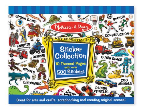 M&D  STICKER COLLECTION  BLUE
