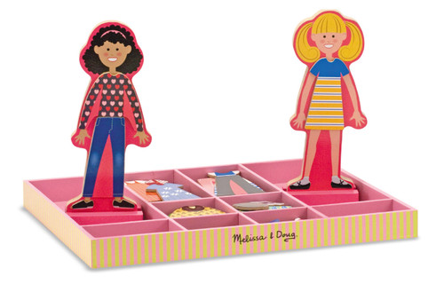 M&D  ABBY & EMMA MAGNETIC DRESSUP