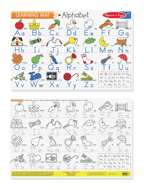 M&D  ALPHABET WRITE-A-MAT