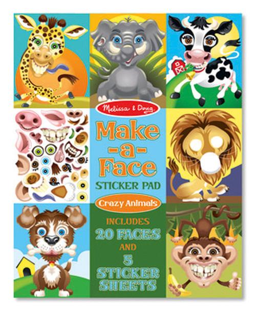 M&D - MAKE-A-FACE - CRAZY ANIMALS