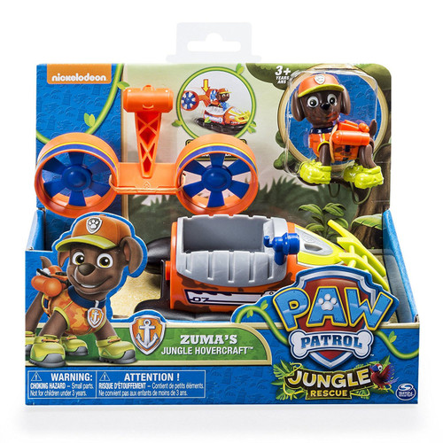 PAW PATROL VEHICLE - ZUMAS JUNGLE HOVERCRAFT