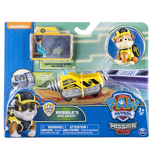 PAW PATROL MISSION PAW - RUBBLES MINI MINER