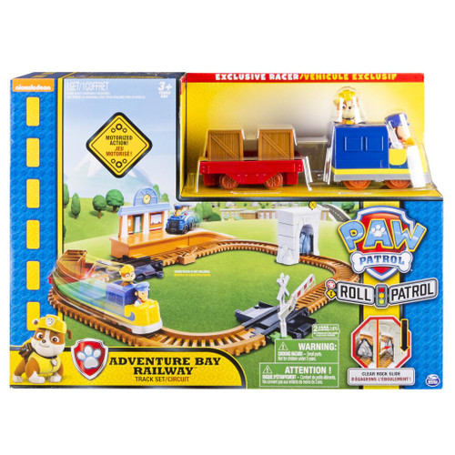 PAW PATROL ROLL PATROL ADVENTURE BAY RAILWAY