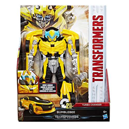TRA MV5 KNIGHT ARMOR TURBO CHANGER - BUMBLEBEE