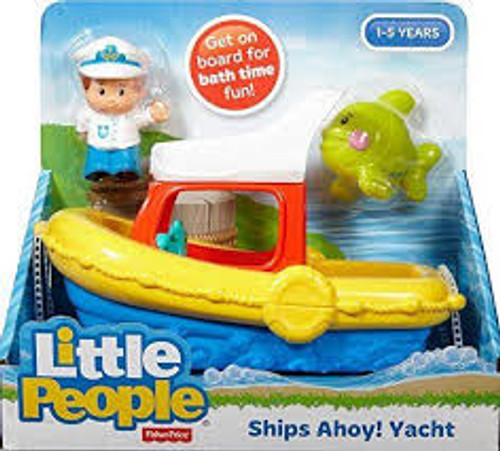 LITTLE PEOPLE BATH FLOATY BOAT