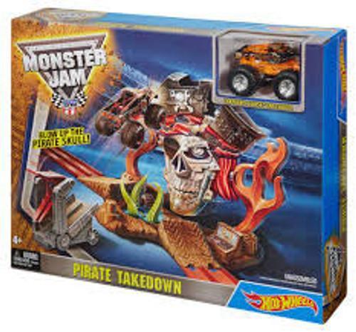 HOT WHEELS MONSTER JAM PREIUM PLAYSET