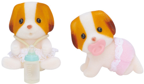 SF- CHIFFON DOG TWINS (sp78068)}