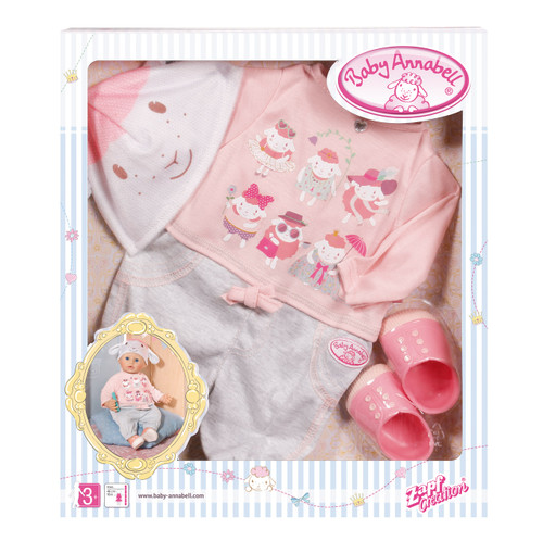 BABY ANNABELL DELUXE SET CASUAL DAY