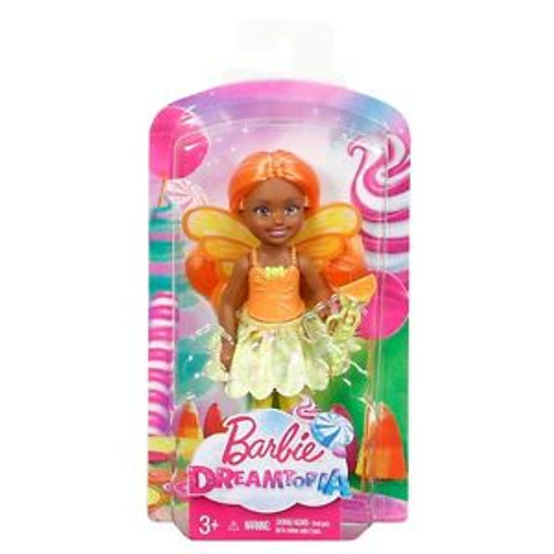 BARBIE FAIRYTALE CHELSEA - ORANGE TOP