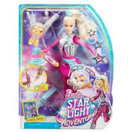 BARBIE LEAD DOLL -STARLIGHT ADVENTURE WITH CAT