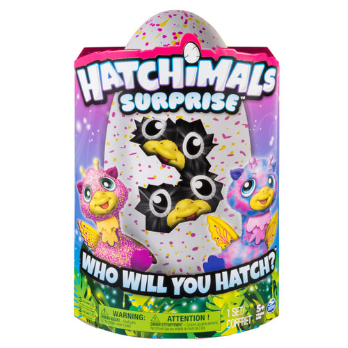 HATCHIMALS SURPRISE PINK EGG - GIRAVEN TWINS