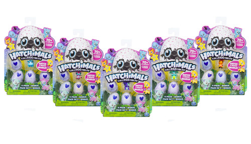 HATCHIMALS COLLEGGTIBLES 5 PACK