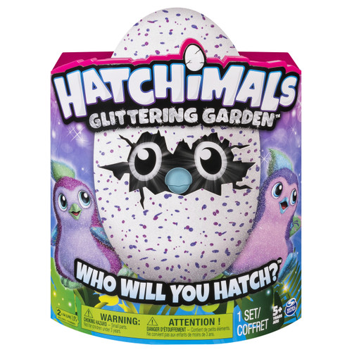 HATCHIMALS GLITTERING GARDEN - PENGUALAS