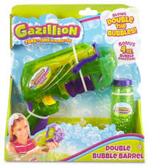 GAZILLION BUBBLES - DOUBLE BUBBLE BARREL (GREEN)