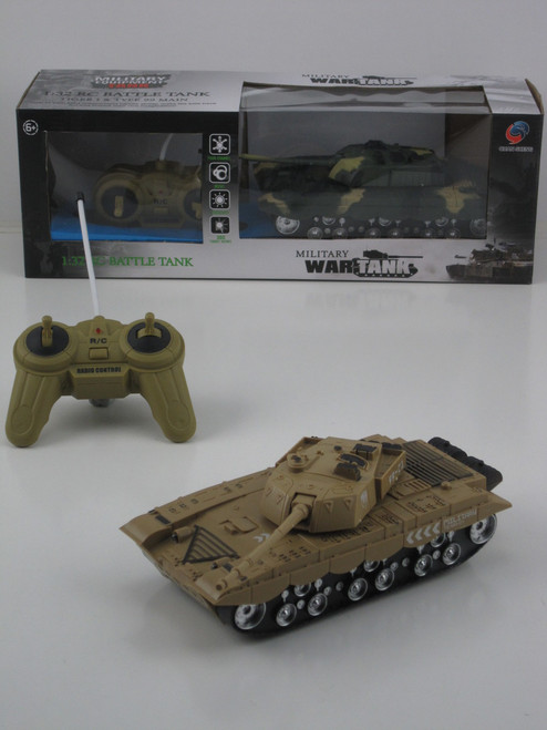 R/C POWER BATTLE TANK - SANDY