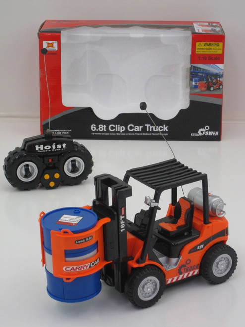 R/C FORKLIFT WORKING DRUM CARRIER (27MHZ)