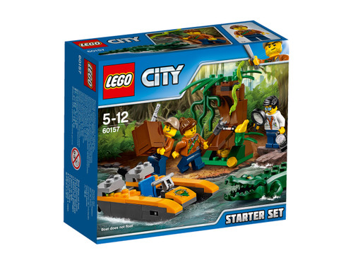 LEGO CITY - JUNGLE STARTER SET