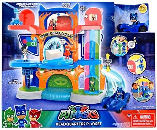 PJ MASKS HEAD QUARTER PLAYSET