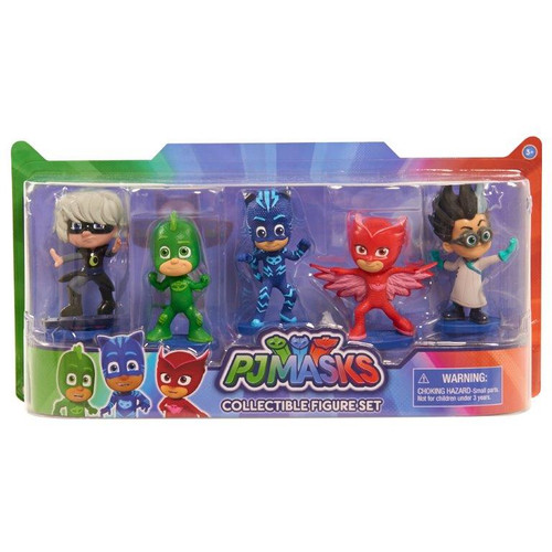 PJ MASKS COLLECTIBLE FIGURES - 5 SET