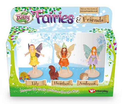MY FAIRY GARDEN FIGURINE PK