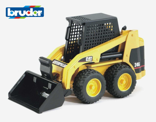 BRUDER - 1:16 CATERPILLAR SKID STEER LOADER