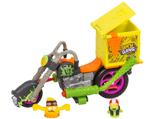 TGG S3 PLAYSET - DELIVERY STRIKE MOTOR BIKE