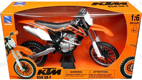 KTM SX-F 1:6 SCALE MOTOR BIKE