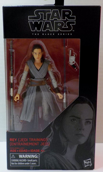 SW E7 BLACK SERIES 6IN FIGURE - REY # 44