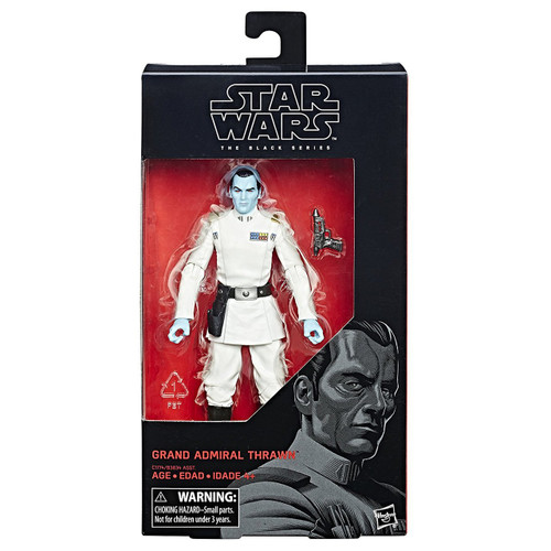 SW E7 BLACK SERIES 6IN FIGURE - GRAND ADMIRAL THRAWN # 47