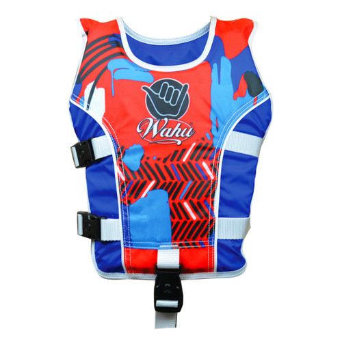WAHU SWIM VEST MEDIUM - BLUE
