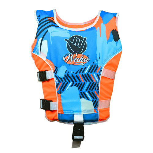 WAHU SWIM VEST LARGE - ORANGE