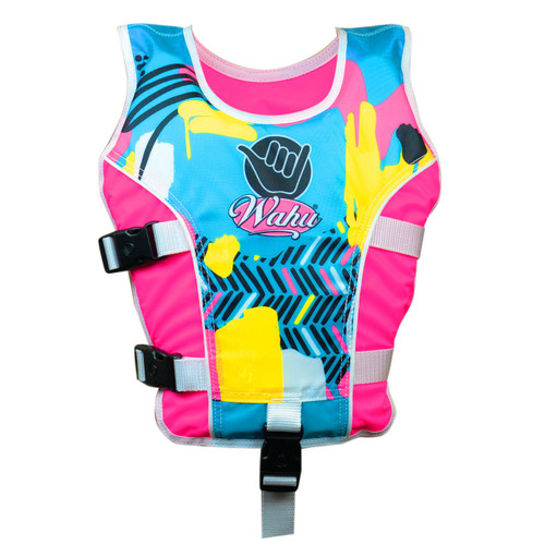 WAHU SWIM VEST LARGE - PINK