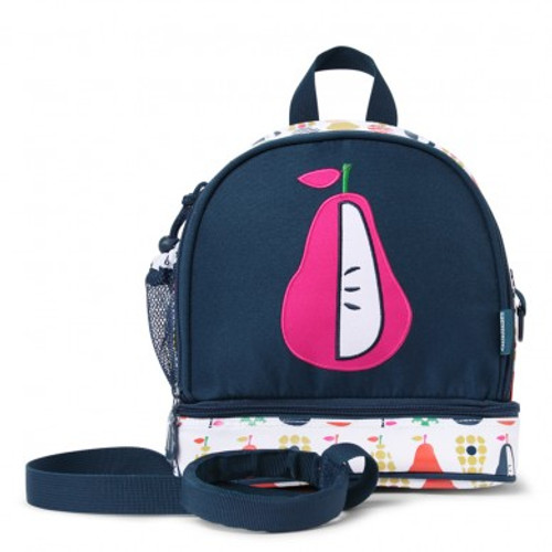 PENNY SCALLAN  JUNIOR BACKPACK WITH REIN - PEAR SALAD