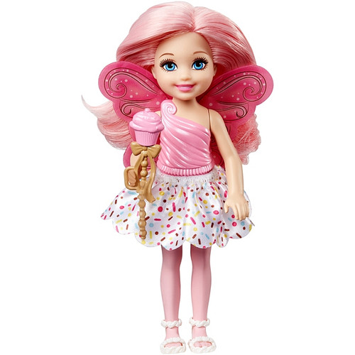 BARBIE FAIRYTALE CHELSEA  - PINK TOP