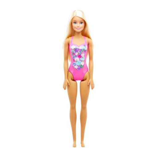 BARBIE BEACH DOLL - PINK SWIMMERS