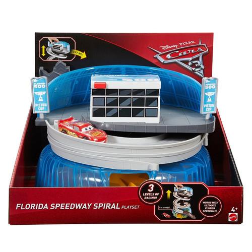 CARS 3 FLORIDA SPEEDWAY SPRIAL PLAYSET