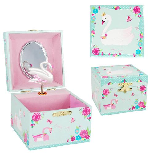 SWAN PRINCESS SMALL MUSIC BOX