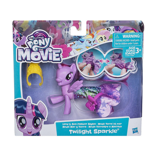 MY LITTLE PONY MOVIE LAND SEA STYLES - TWILIGHT SPARKLE