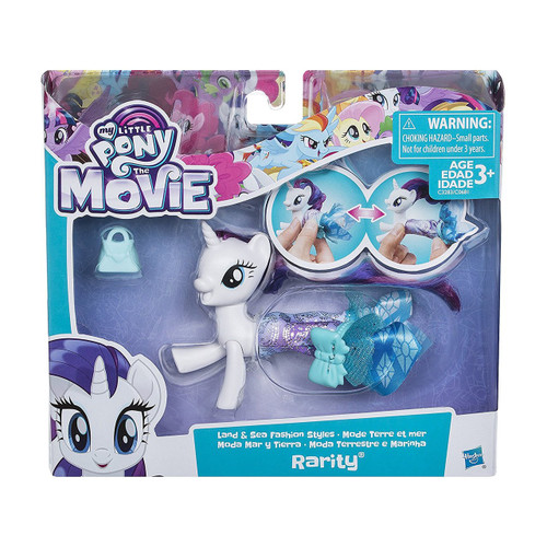 MY LITTLE PONY MOVIE LAND SEA STYLES - RARITY