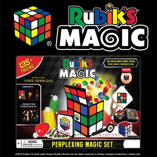 RUBIKS PERPLEXING MAGIC SET - 135+ TRICKS