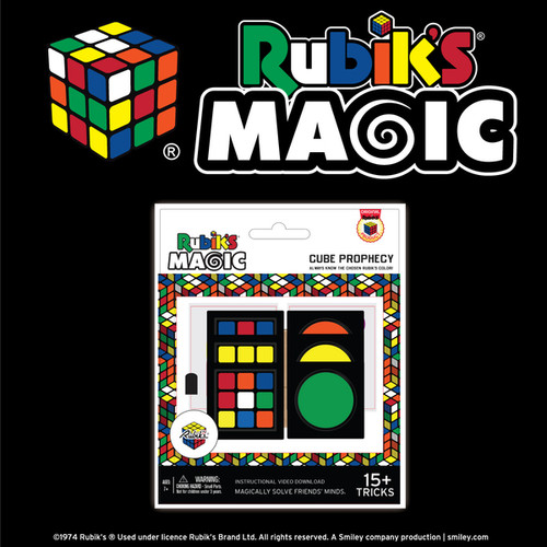 RUBIKS PROPHECY MAGIC - 15 TRICKS